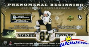 2005-UD-Sidney-Crosby-PB-GOLD-21-Card-ROOKIE-Set-JUMBO-RC-Look-for-1-500-AUTO