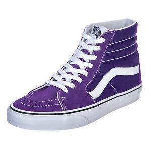 Dettagli su Vans Ua Sk8 Hi VioletIndigo Sneakers Alte UomoDonna Viola