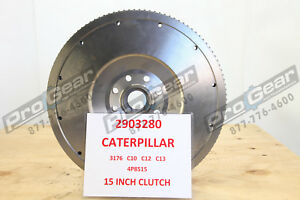 Details about NEW Caterpillar CAT Flywheel 2903280 C10 C12 C13 3176 15 5  CLUTCH 4P8515