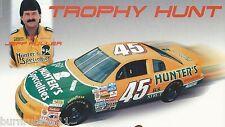 "JEFF FULLER ""HUNTER'S SPECIALTIES TROPHY HUNT"" #45 NASCAR BUSCH SERIES POSTCARD"