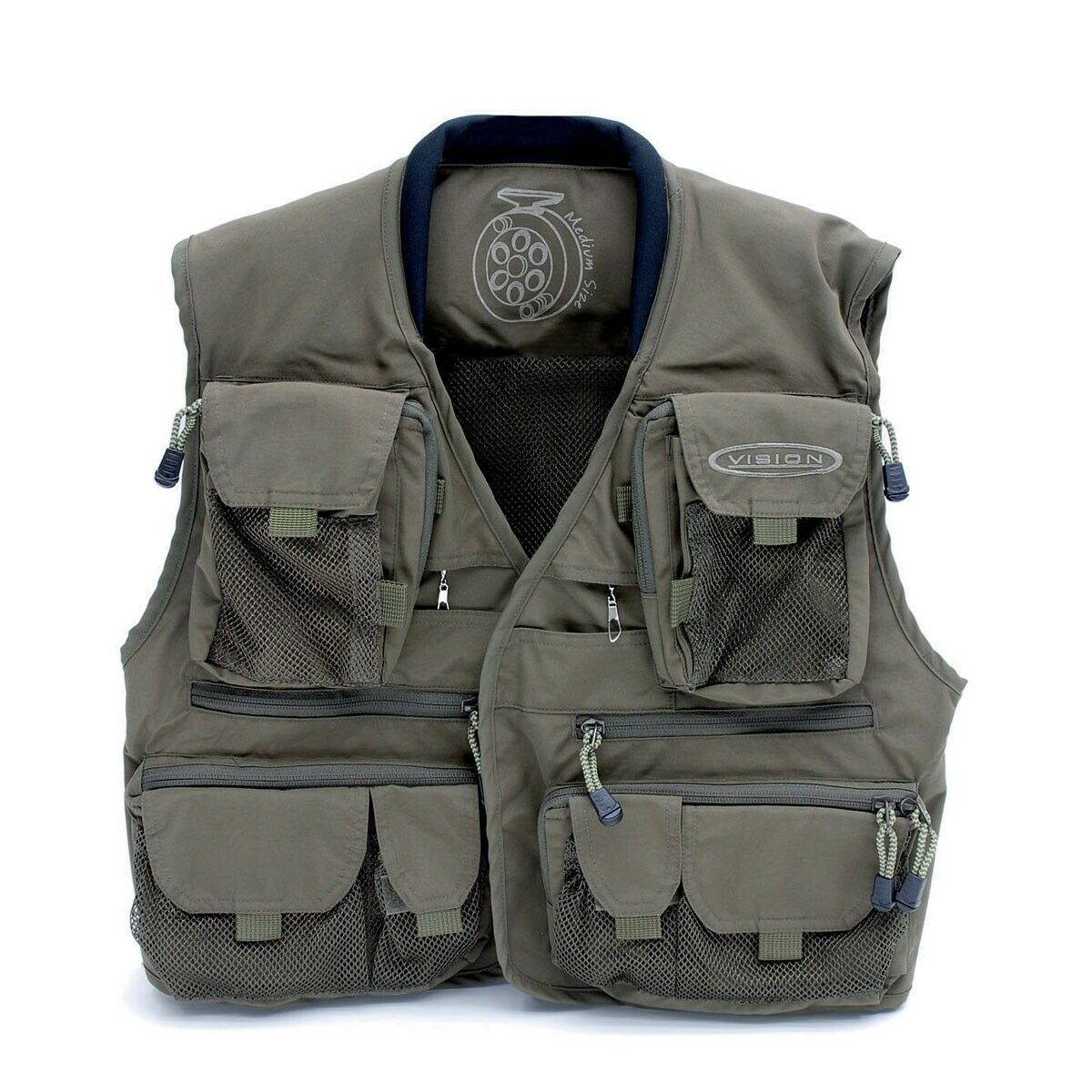VISION autoibù Fly Fishing Vest Vest Vest Medium d41