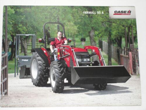 CASE 7 CASE IH FARMALL 55 A Traktoren Prospekt von 03//2012