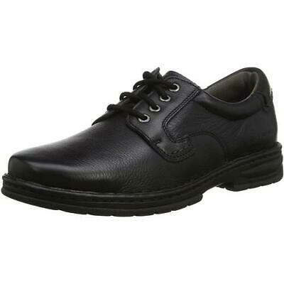 hush puppies outlaw ii mens black dual fit lace up casual
