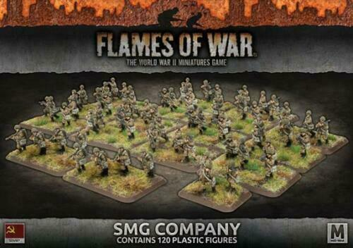 SMG COMPANY - FLAMES OF WAR - SBX51 - SOVIET