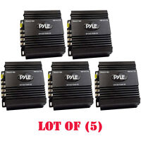Lot Of (5) Pyle Pswnv480 24-12v Dc Power Step Down Converter 480w Pmw Technology on sale