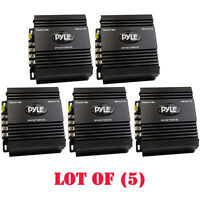 Lot Of (5) Pyle Pswnv480 24-12v Dc Power Step Down Converter 480w Pmw Technology