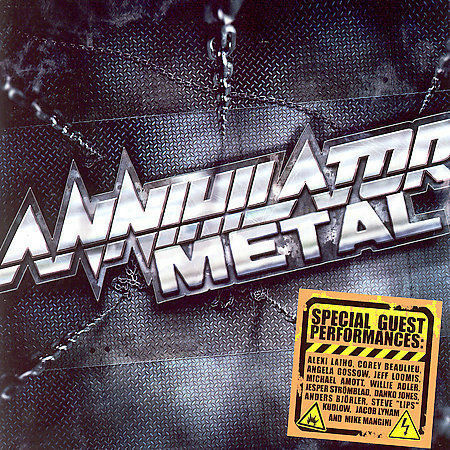 1 of 1 - Annihilator Metal 2007 Steamhammer SPV Used But Near New Low Postage