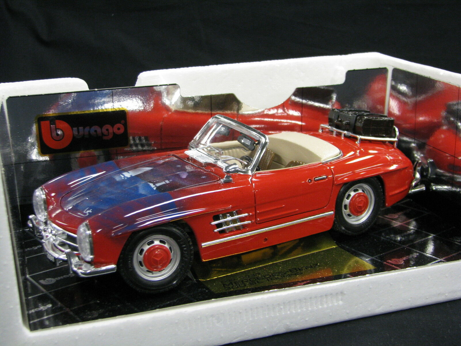 Bburago Special Edition Mercedes-Benz 300 SL Touring 1 18 Air brushed rosso (JS)