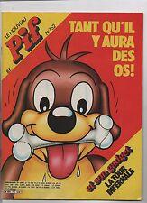 PIF GADGET n°752 - Août 1983 - Etat neuf sans le gadget