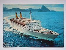 NAVE EUGENIO Costa Line ship Lloyd liner vecchia cartolina