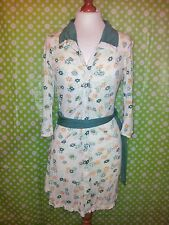 Superdry Vintage Thrift Collection 70's Style Shirt Dress - Size 8 - Mint!