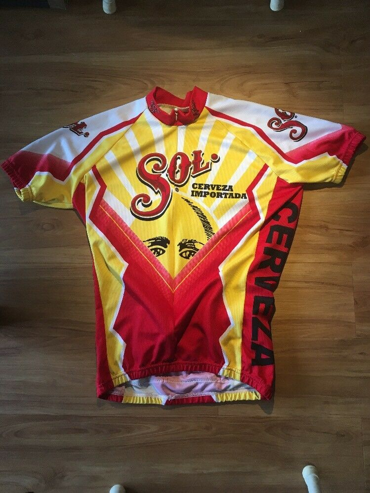 World Jersey Sol Cerveza  Cycling Jersey Mens Medium  online shop