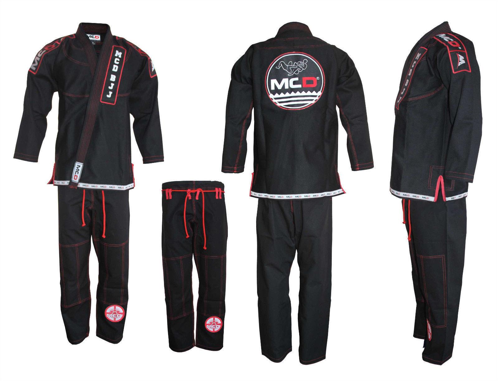 MCD BJJ Kimono BJJ Gi BJJ Suit BJJ Unifrom BJJ Suit Brazilian Jiu Jitsu 100% Cot