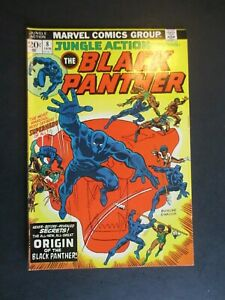 The Black Panther Jungle Action #8 Comic Cover Marvel Comics T-Shirt
