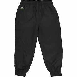Lacoste-Juniors-survetement-noir-4-ans-jogging-survetement-Bottoms-Kids-BNWT-RRP-55