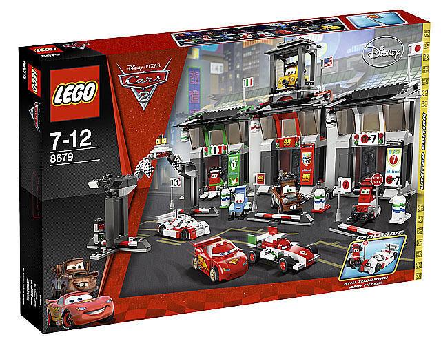 LEGO CARS 8679 Grand Course à tokyo international circuit