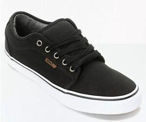 c7168f53ac47d4 Vans Chukka Low Canvas Black & White Skate Shoes Size Men's 8 ...