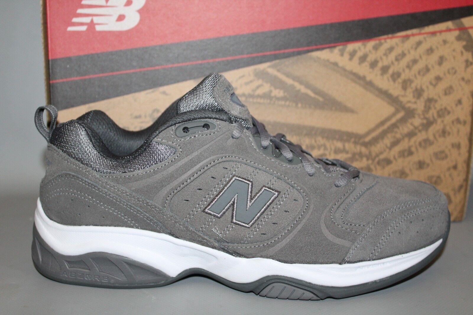 Nuevo Para hombres Cuero gris MX623GS, New Balance Zapatos Atléticos