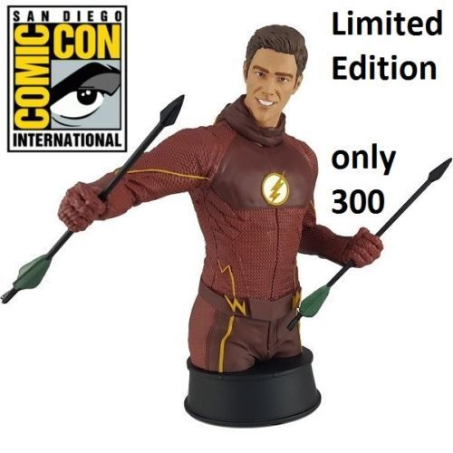 SDCC 2017 DC Comics The Flash TV Mini Bust of 300 Gentle Giant