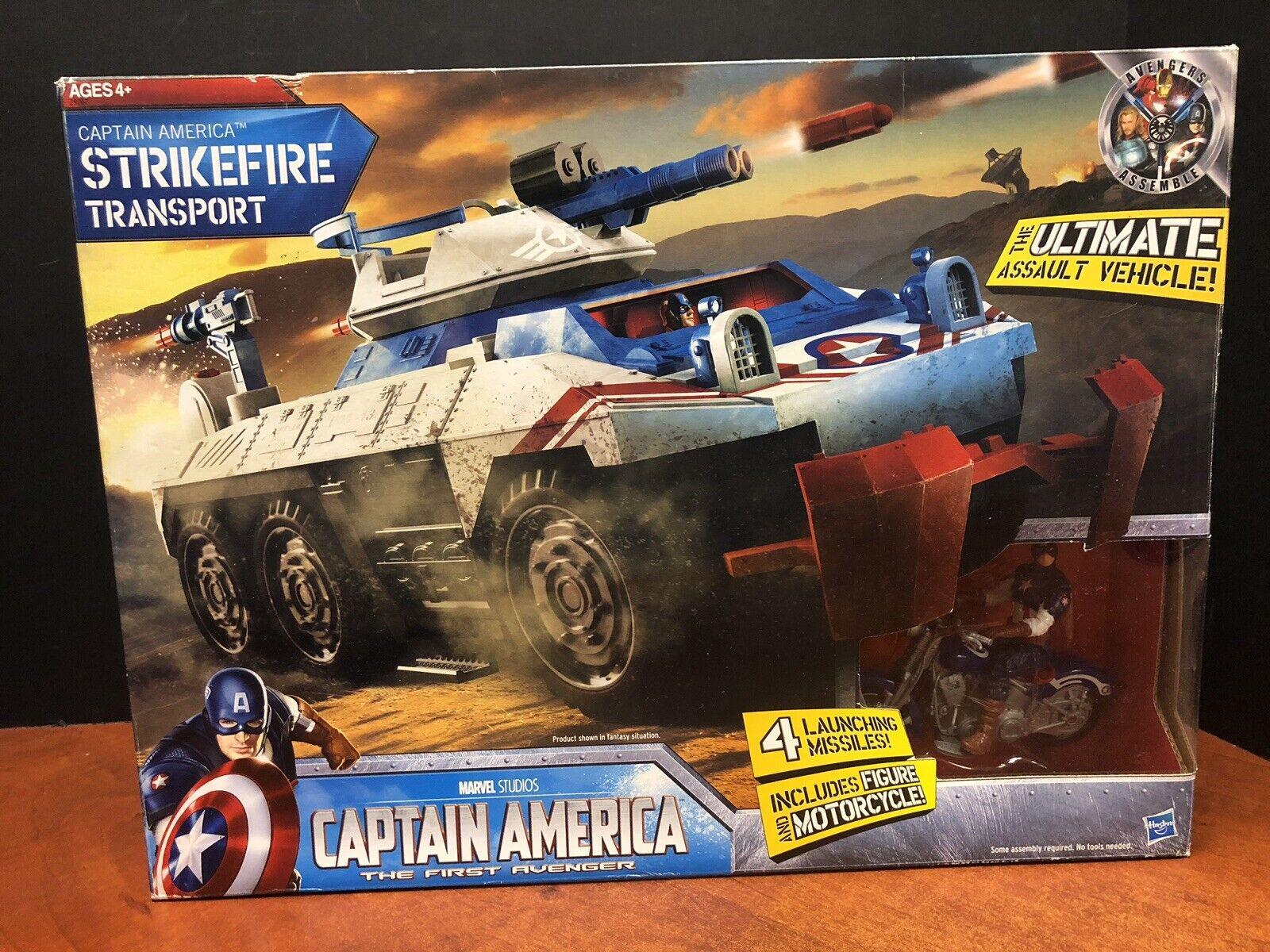 Capitán América el último asalto vehículo Strikefire transporte que 0132