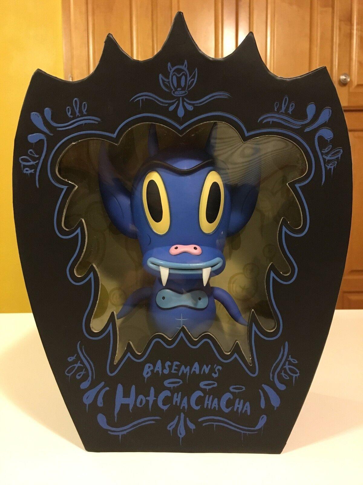 Gary Baseman Hot Cha Cha Cha Blau Vinyl Figure LMTD ED 500 & SIGNED