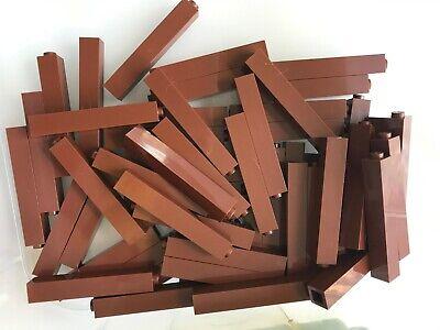 LEGO Reddish Brown Brick 2x10 5 to 50 Pieces