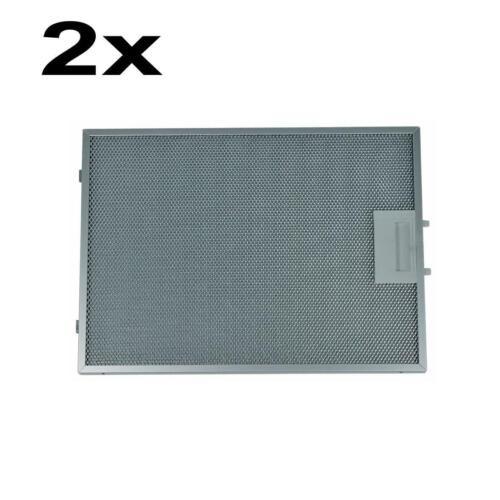 2x Grasso Filtro Siemens Originale 00703451 FILTRI IN METALLO 370x265mm cappa aspirante