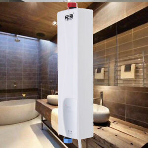 3kw chauffe eau instantan electrique tankless r chauffeur - Chauffe eau electrique cuisine ...