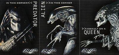 90 - Complete Card SET AVP - Inkworks 2004 NM Alien Vs Predator