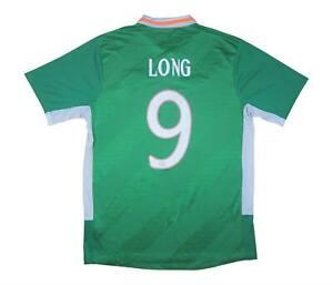 Irlanda 2016-17 originale maglietta lunga #9 (eccellente) L soccer jersey