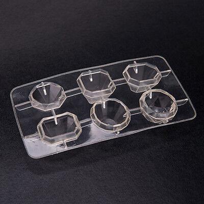 Novel Freeze Ice Cube Jewels Diamonds Ice Tray Ice Cubes Mould Mold UF .02