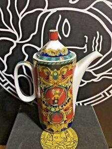 VERSACE-Coffee-pot-Le-Roi-King-Sun-ROSENTHAL-BEST-SALE-Retired