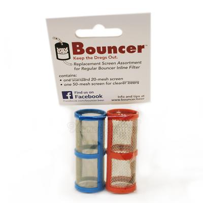 Replacement Screen Assortment for regular Bouncer