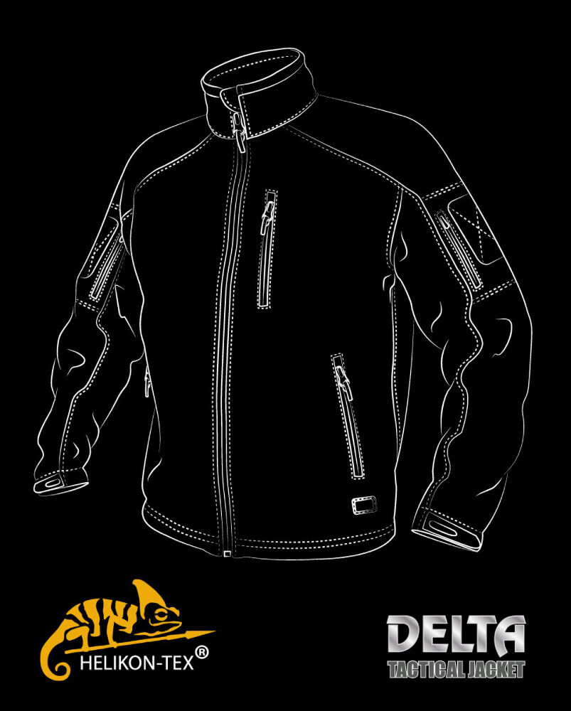 Shark Delta Tex Skin Helikon Veste Tactical Shell Soft RnZ6xSxqBw