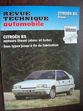 Citroën BX Diesel et Turbo D : revue technique RTA 4458
