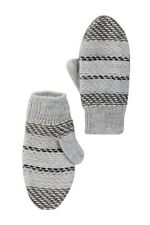Tea Collection Steppe Mittens Storm Grey Soft Warm Kids Large 8-10 NWT