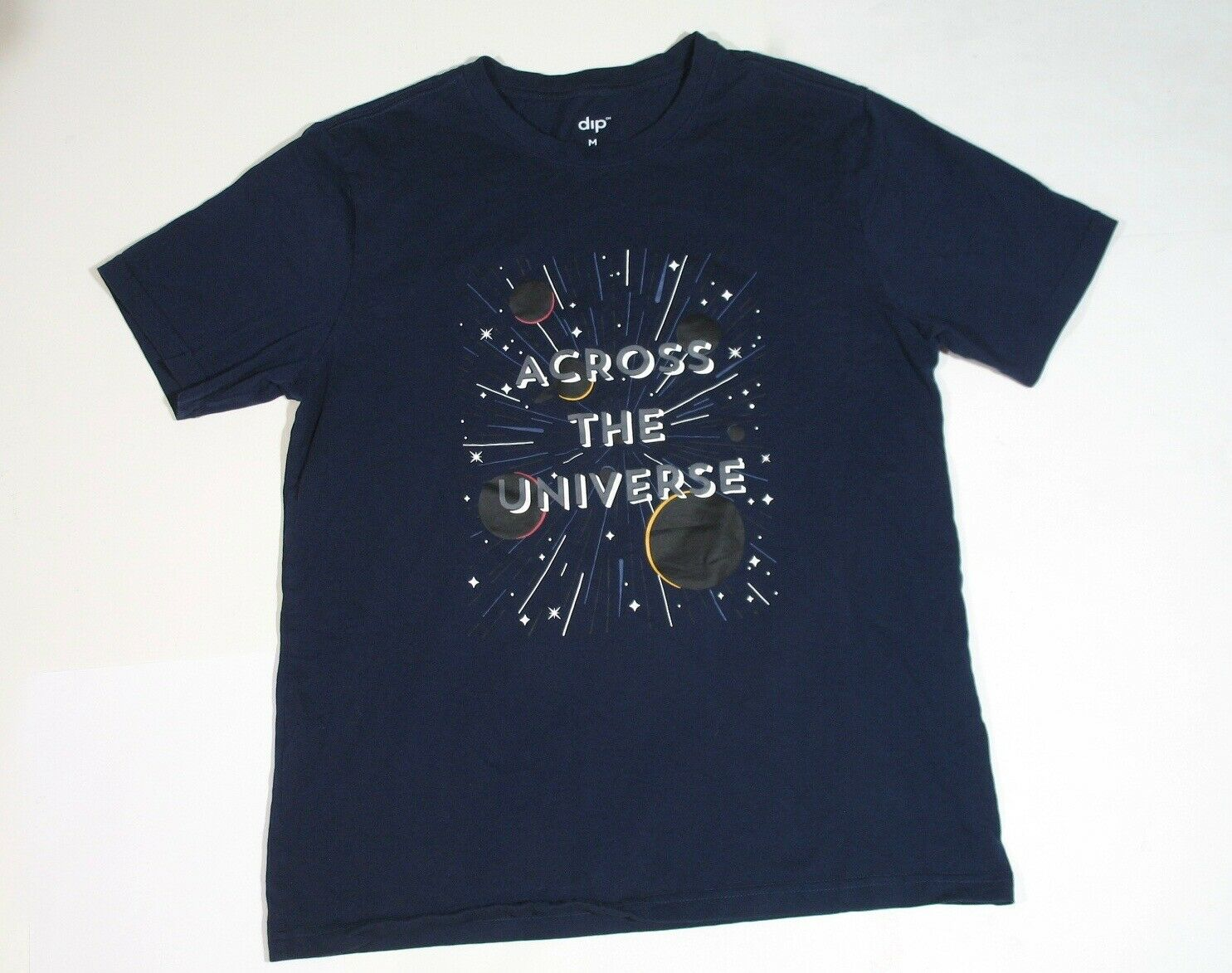 Across The Universe Stars and Planets Adult T-Shi… - image 3