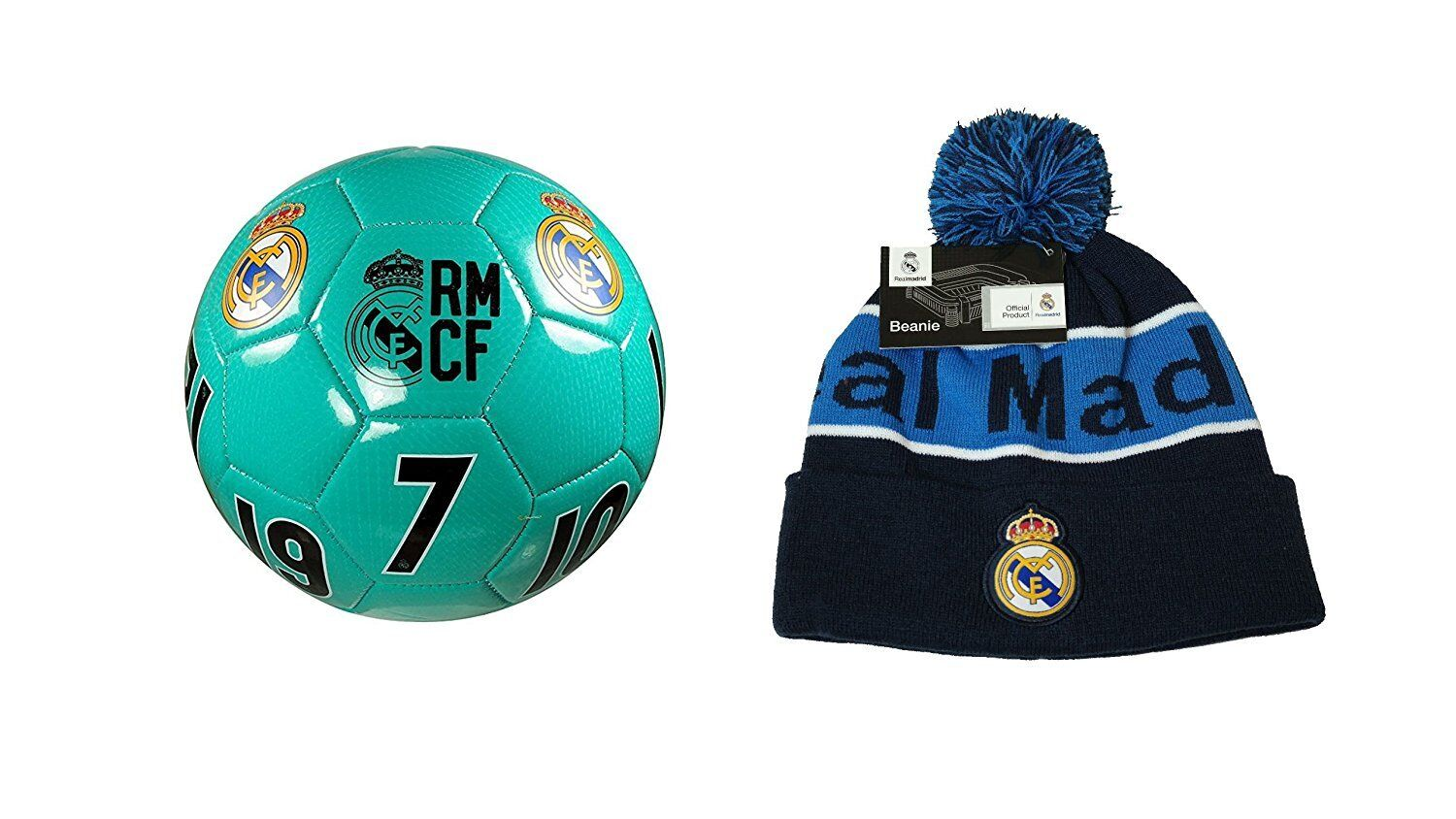 51d27f8f8 Real Madrid C.F. Official Soccer 4 Ball   Combo 08-2 Size Beanie  nuesxm1738-Balls