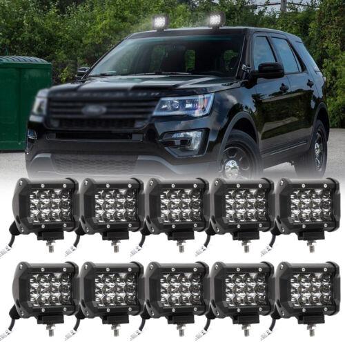 LED 36W Arbeitsscheinwerfer Offroad Scheinwerfer Flutlicht für SUV LKW Bagger DE