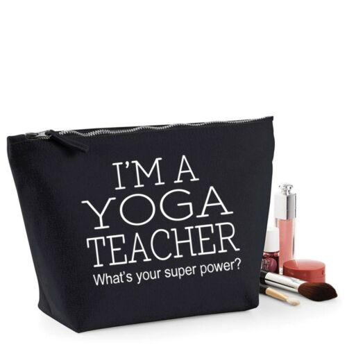 Insegnante di yoga grazie regalo Women/'s Make Up Borsa Da Accessorio