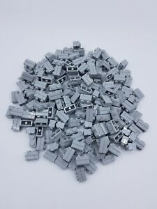 LEGO-LOT-100-X-BRIQUE-MASONRY-1X2-GRIS-CLAIR-LIGHT-BLUISH-GRAY-REF-98283-NEUVES