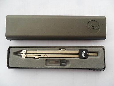 Compasso Kern Swiss Con Scatola/astuccio/custodia Originale-accessori-vintage