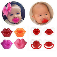 Baby Silicone Nipple Dummy Funny Soother Toddler Orthodontic Pacifier Teether