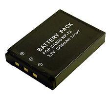 CS Power NP-70 NP70 Li-ion Battery For Casio EX-Z150 and EX-Z250 Digital Camera