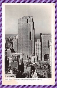 Tarjeta-Postal-BLDG-Rockefeller-Center-New-York-City