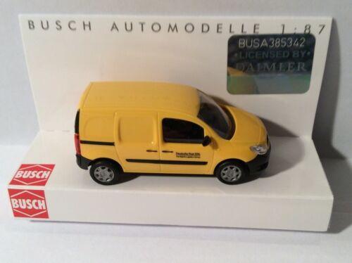 BUSCH 50606 Spur H0 MB Citan Kastenwagen »Deutsche Post«  #NEU OVP#