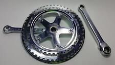 """Double Crankset Road Bike 48 40 48t-40t Cottered 6-1/4"""" 155mm Steel Vintage"""