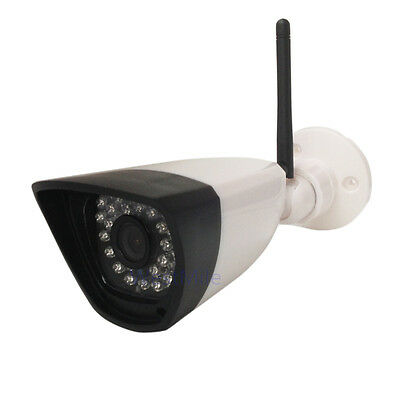 2.0MP 1080P Wifi wireless IP Camera outdoor bullet 30IR night vision ABS Plastic