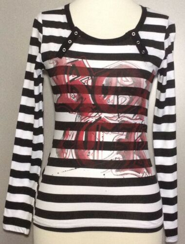 Hide and Seek Long-Sleeves Jerry Leigh Women/'s Top Nice Fabric 100/% Cotton