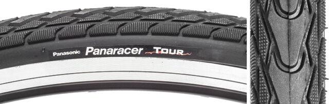 Panaracer Tour Tires Standard 700X25 622 Wire Bk//Blk 110 500 27 No